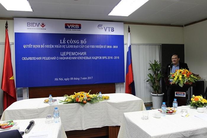(PTGĐ BIDV Trần Lục Lang phát biểu chỉ đạo tại buổi lễ)